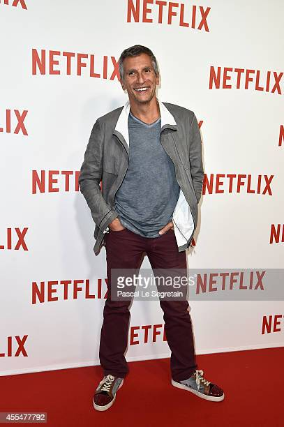 Nagui attends the 'Netflix' Launch Party at Le Faust on September 15 2014 in Paris France