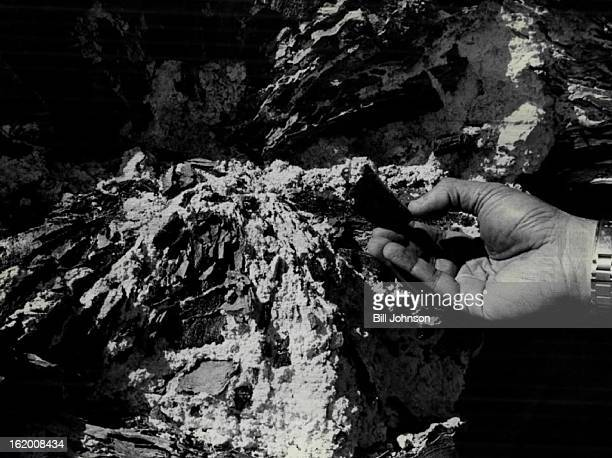MAR 22 1977 JUL 1 1977 JUL 3 1977 Nahcolite may be added benefit of OilShale Mining While substance filling cracks in black of oilbearing shale is...