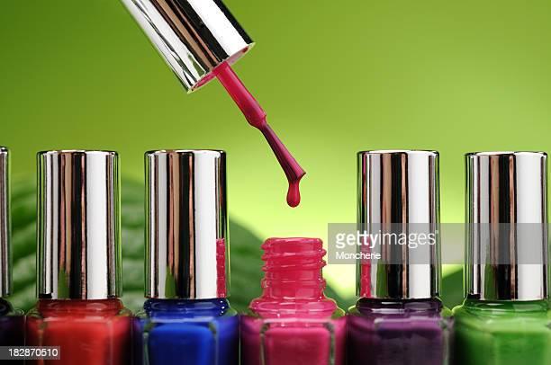 Nail polish drop