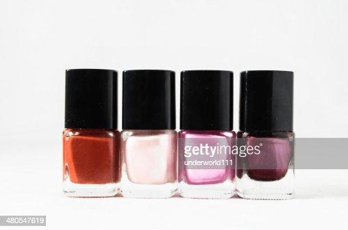 Esmalte de uñas : Foto de stock
