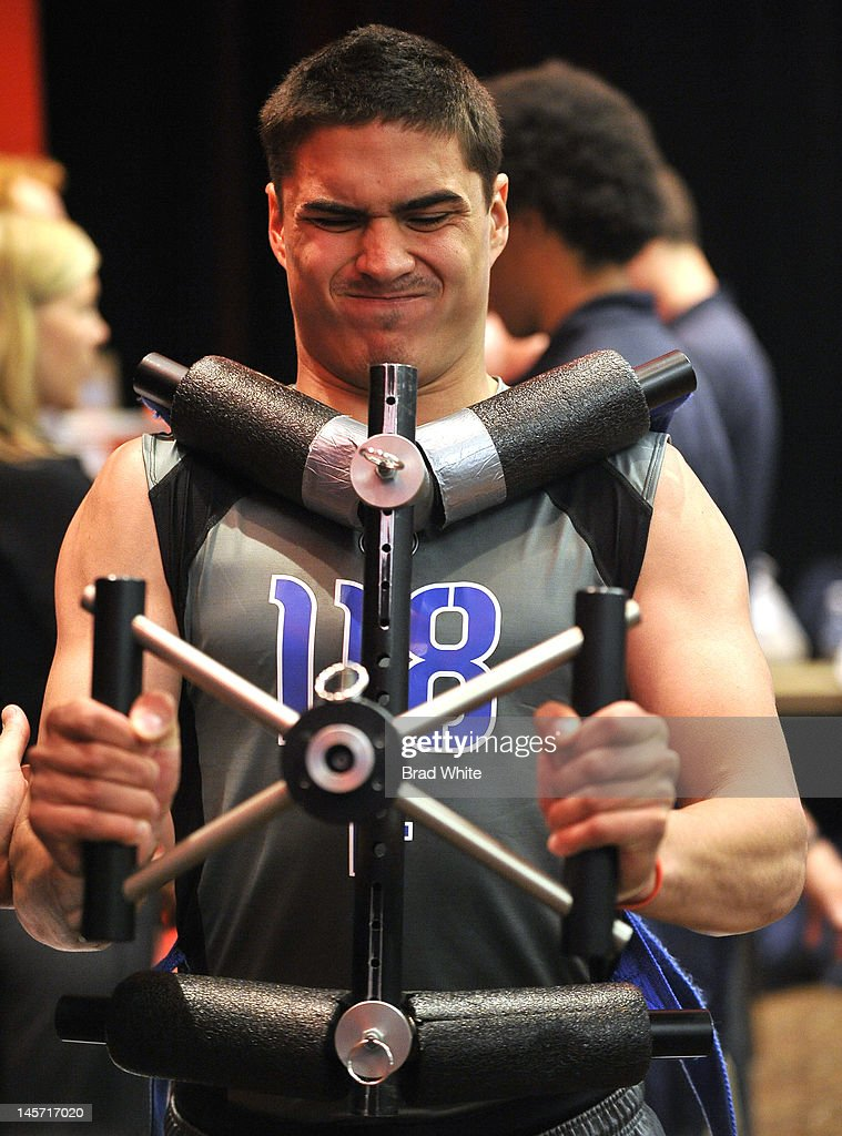 Nail Yakupov #118 takes part in the 2012 NHL Combine June 1, 2012 at International Centre in Toronto, Ontario, Canada.