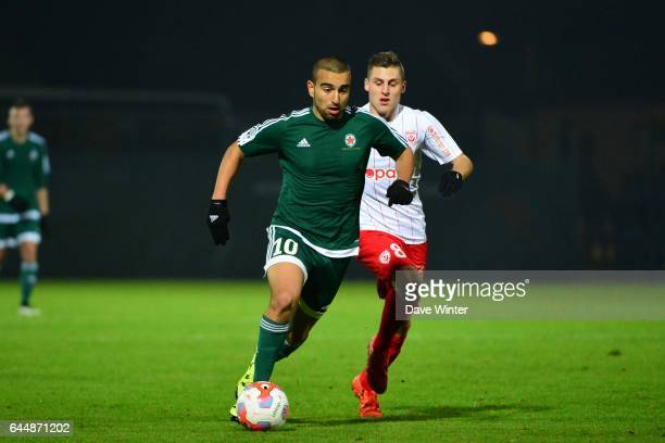 Naim SLITI Red Star / Nancy Ligue 2 11e journee Photo Dave Winter / Icon Sport