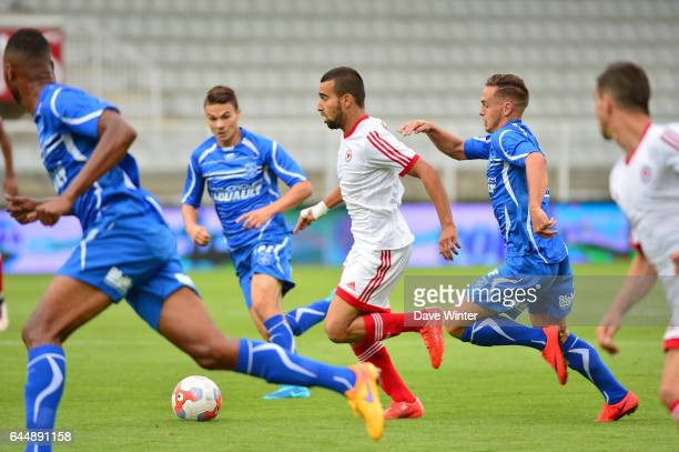 Naim SLITI Auxerre / Red Star Match Amical Photo Dave Winter / Icon Sport