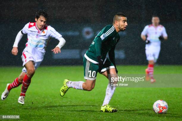 Naim SLITI Red Star / Ajaccio 15eme journee de Ligue 2 Photo Dave Winter / Icon Sport