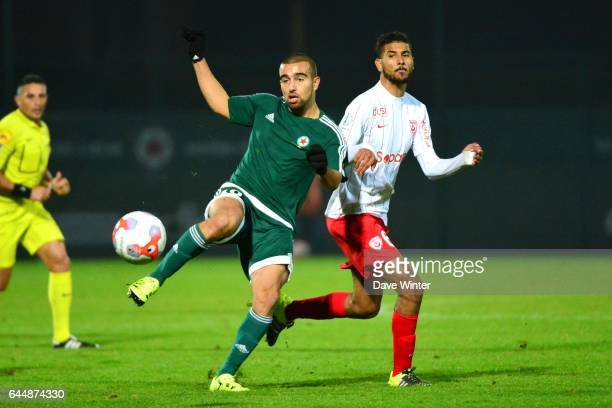 Naim SLITI / Youssef AIT BENNASSER Red Star / Nancy Ligue 2 11e journee Photo Dave Winter / Icon Sport