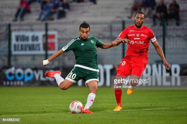 Naim SLITI / Yunis ABDELHAMID Red Star / Valenciennes 5eme journee de Ligue 2 Photo Dave Winter / Icon Sport