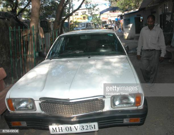 Prakash Chavan a mechanic next to contessa car owned by Nair family in Sunbheem garage in Prabhadevi The nair family allegedly committed suicide due...