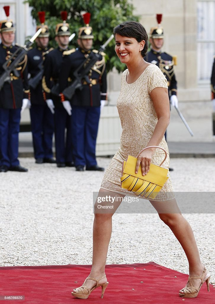 State Dinner in Honnor Of  South African President Jacob Zuma At Elysee Palace in Paris