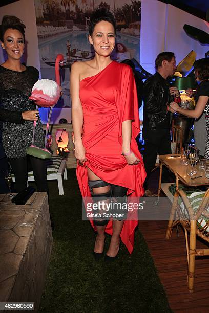 Najed al Kamel attends the Bild 'Place to B' Party at Borchardt Restaurant on February 7 2015 in Berlin Germany