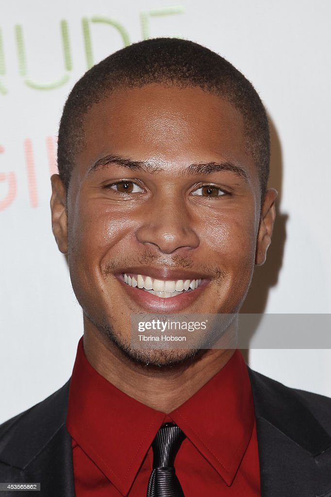 Najee De-Tiege attends the 'Live Nude Girls' premiere at Avalon on August 12, 2014 in Hollywood, California.