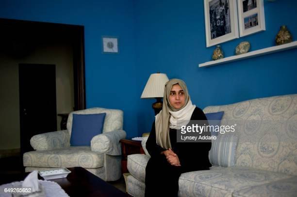 Najla Hariri an unassuming housewife in Jeddah on the countrys west coast is interviewed in her home in Jeddah Saudi Arabia June 15 2011 Najla's...