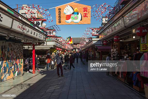 Nakamise Street is one of the oldest shopping centers in Japan The Tokugawa Shogunate established Edo which grew along with visitors to Sensoji...