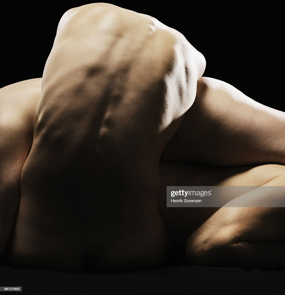 Naked bodies entwined : Stock Photo