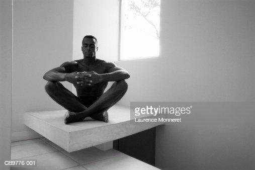 Nude man sitting Nude Photos
