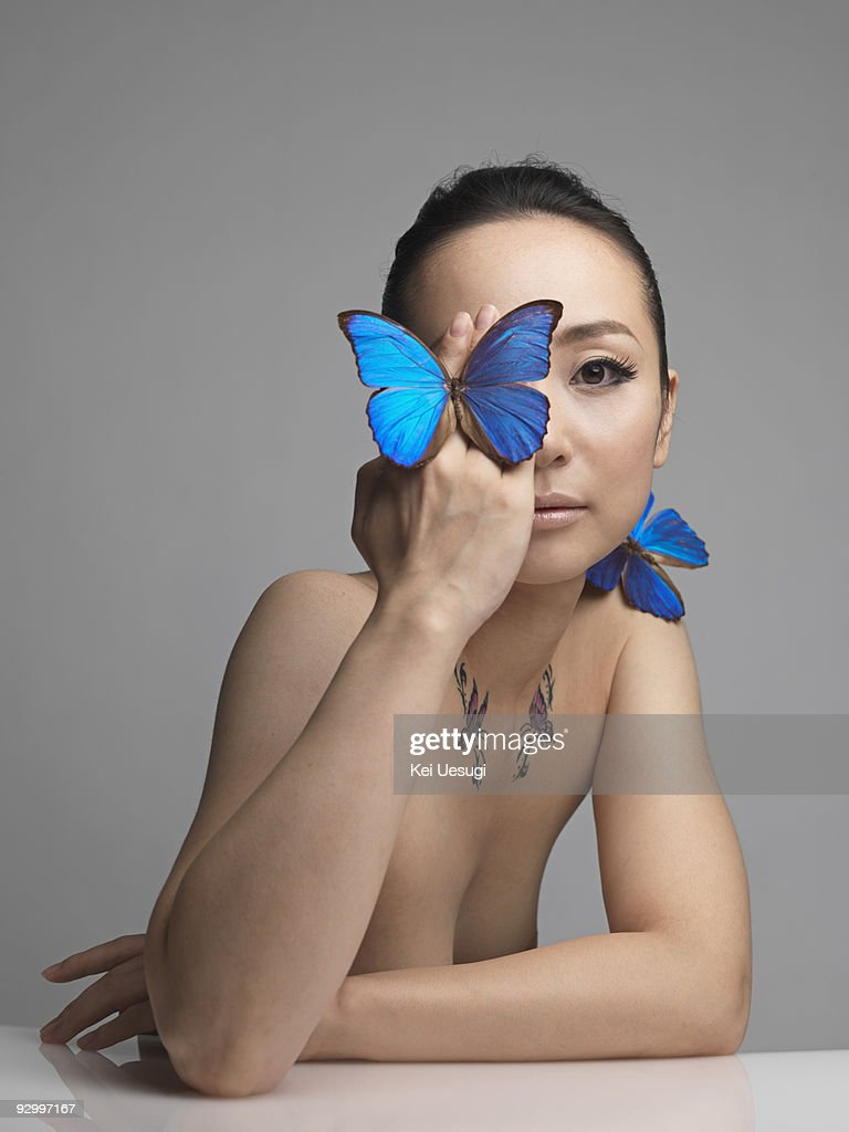 A naked woman. : Stock Photo