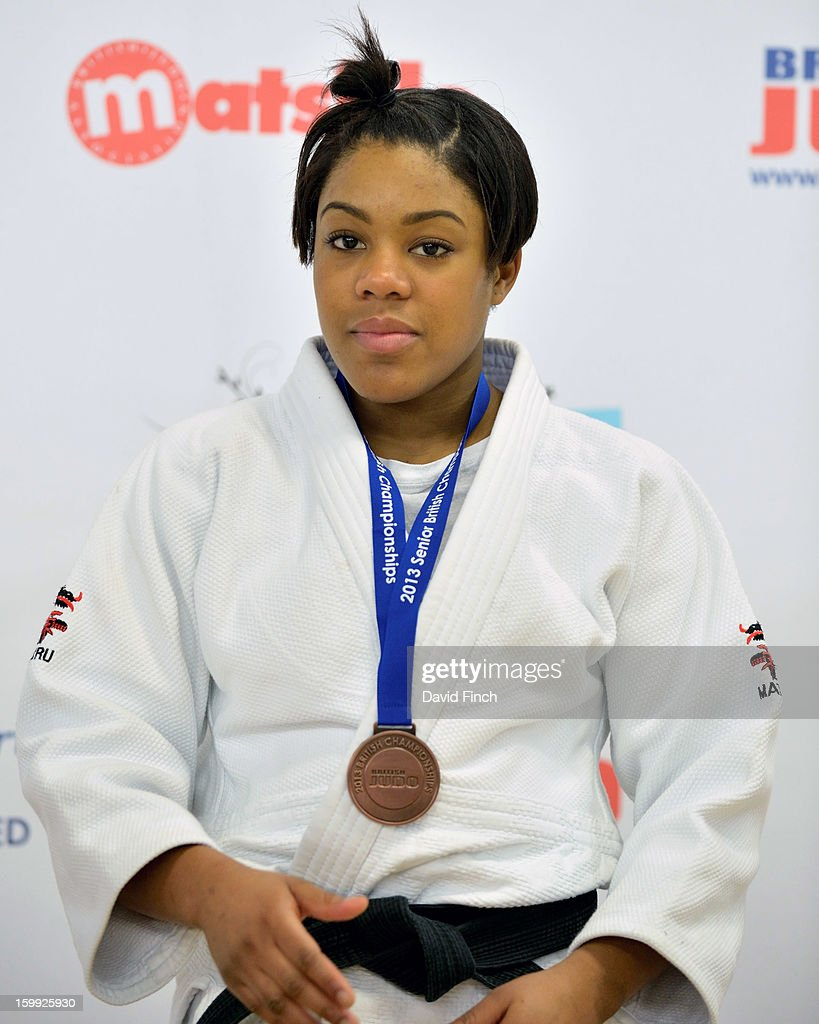 Nakoda Davis, who won a gold medal in the Junior Championships on the previous day won a u57kgs bronze medal in the Senior Championships at on Sunday, January 20, 2013 at the English Institute of Sport, Sheffield, England, UK.
