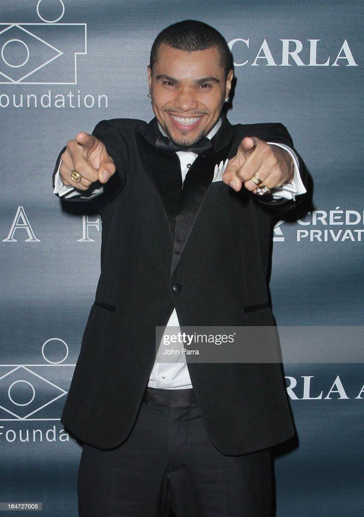Naldo Benny attends the II BrazilFoundation Gala Miami at Vizcaya Museum & Gardens on March 26, 2013 in Miami, Florida.