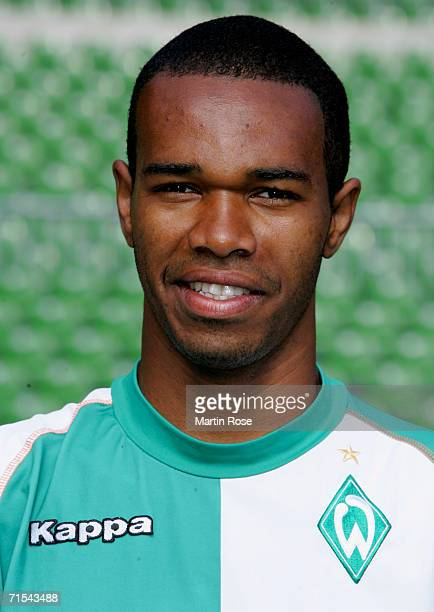 Naldo during the Bundesliga 1st Team Presentation of SV Werder Bremen at the Weser Stadium on July 29 2006 in Bremen Germany