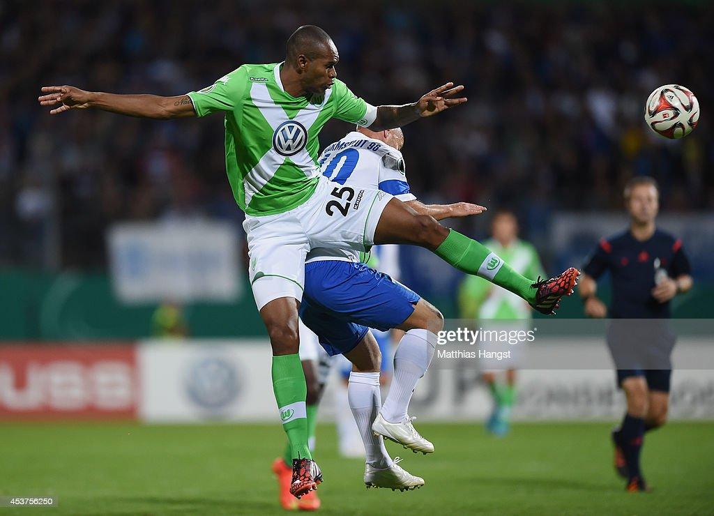 Darmstadt 98 V Vfl Wolfsburg Dfb Cup Getty Images