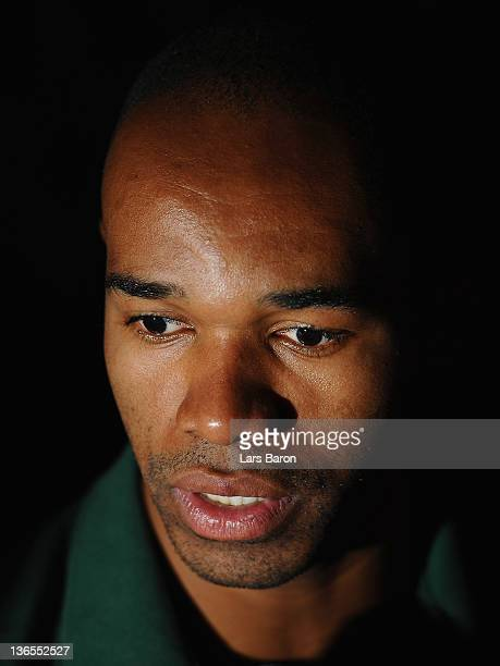 Naldo speaks to the media during day five of Werder Bremen training camp on January 8 2012 in Belek Turkey