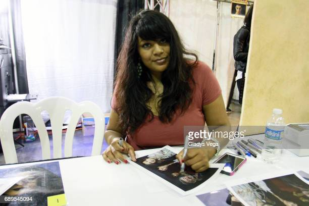 Nalini Krishan of Star Wars Attack of the Clones participates on Puerto Rico Comic Con at Puerto Rico Convention Center on May 28 2017 in San Juan...