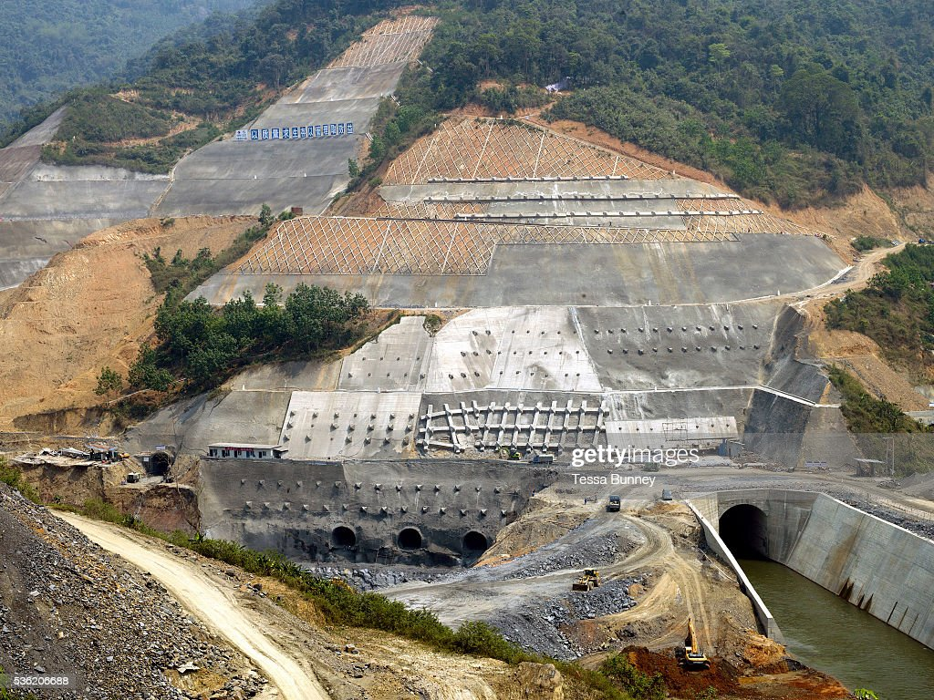 Laos hydropower dam gallery diagram writing sample ideas and guide lao pdr rural life nam ou river dam construction pictures nam ou cascade hydropower project dam sciox Images