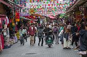 Namdaemun Market in Seoul. Namdaemun Market is a large traditional market in Seoul, South Korea.