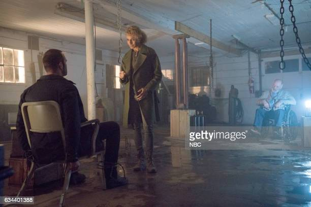 BLINDSPOT 'Named Not One Man' Episode 213 Pictured Sullivan Stapleton as Kurt Weller Michelle Hurd as Shepherd Kenneth Tigar as Clark