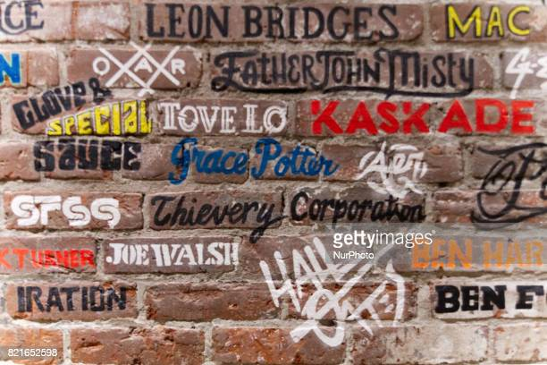 Names of some of the performers who played in the past at the Fishtown venue The entertainment venue in the Fishtown neighborhood of Philadelphia PA...