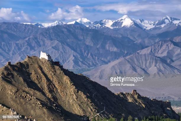 Namgyal Tsemo Gompa in Leh district, Ladakh, northern India