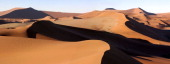 Namib desert sand dunes at Soussesvlei a popular tourist location