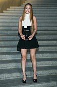 Namie Amuro attends the Chanel 2015/16 Cruise Collection show on May 4 2015 in Seoul South Korea