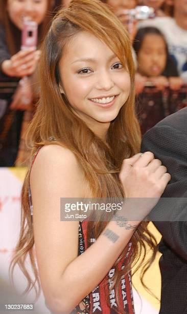 Namie Amuro during 2004 MTV Video Music Awards Japan Arrivals at Tokyo Bay NK Hall in Tokyo Japan