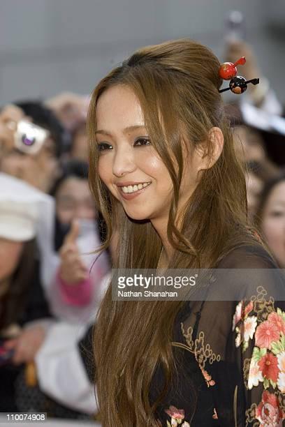 Namie Amuro during MTV Video Music Awards Japan 2006 Red Carpet at Yoyogi National Stadium in Tokyo Japan