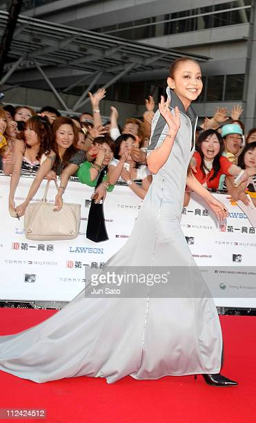 Namie Amuro during MTV Video Music Awards Japan 2007 Red Carpet at Saitama Super Arena in Saitama Japan