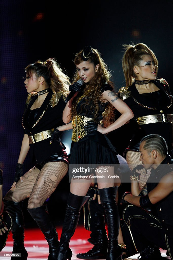 Namie Amuro performs during the 'World Music Awards 2010 - show' at the Sporting Club in Monte Carlo, Monaco.