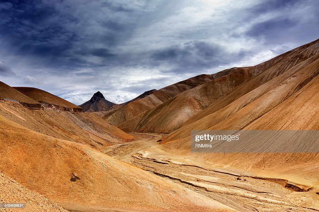 Namika La, mountain pass of Ladakh, Jammu and Kashmir, India : Stock Photo