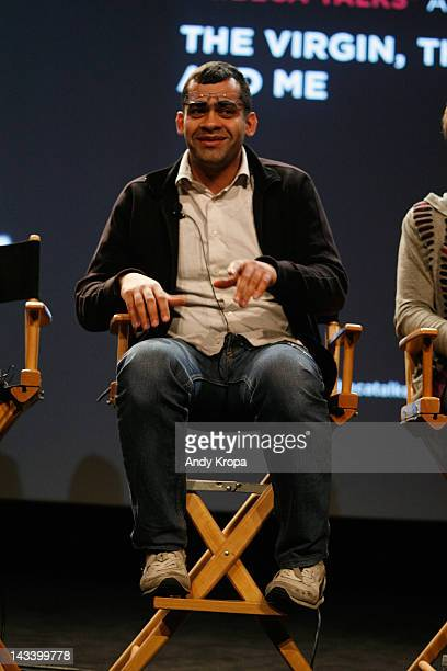 Namir Abdel Messeeh attends Tribeca Talks After The Movie 'Virgin The Copts And Me' during the 2012 Tribeca Film Festival at the School of Visual...