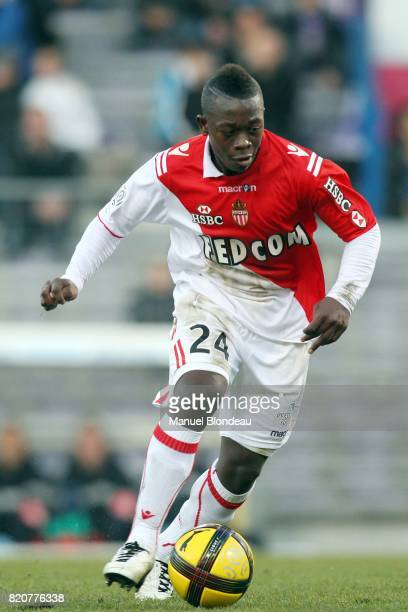 Nampalys Mendy Toulouse / Monaco 22e journee de Ligue 1