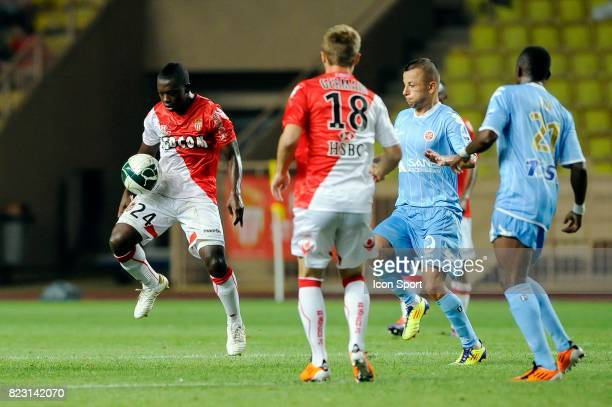 Nampalys Mendy Monaco / Reims 3eme journee de Ligue 2