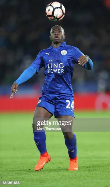 Nampalys Mendy of Leicester City in action during The Emirates FA Cup Fourth Round Replay beteween Leicester City and Derby County at The King Power...