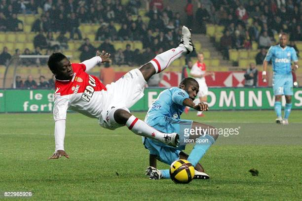 Nampalys MENDY / Rod FANNI Monaco / Marseille 21e journee Ligue 1