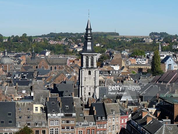 Namur roofs and Eglise St. Jean-Baptiste