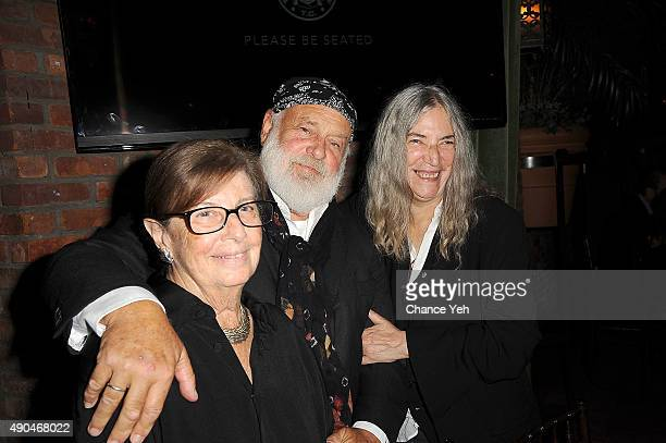 Nan Bush Bruce Weber and Patti Smith attend 3rd Annual Turtle Ball at The Bowery Hotel on September 28 2015 in New York City