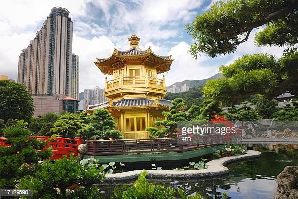 Nan Lian jardin, Chi Lin, Diamond des collines, Hong Kong