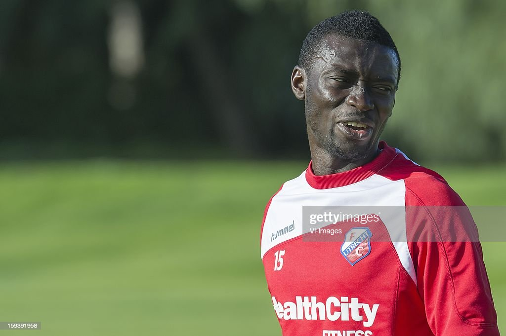 Nana Asare of FC Utrecht during the training camp of FC Utrecht on January 11, 2013 at Almancil, Portugal.