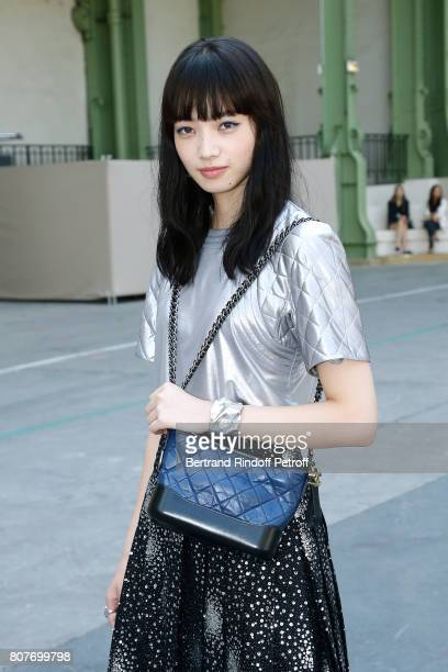 Nana Komatsu attends the Chanel Haute Couture Fall/Winter 20172018 show as part of Haute Couture Paris Fashion Week on July 4 2017 in Paris France
