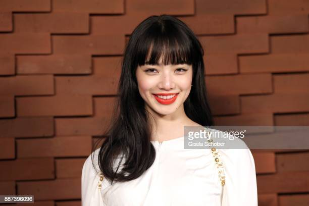 Nana Komatsu during the Chanel 'Trombinoscope' Collection des Metiers d'Art 2017/18 photo call at Elbphilharmonie on December 6 2017 in Hamburg...