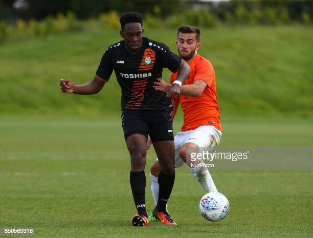 Nana Kyei of Barnet during Central League Cup match between Barnet Under 23s and Southend United Under 23s at Barnet Training Ground London England...