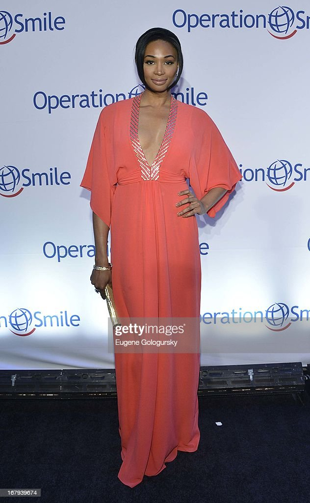 Nana Meriweather attends Operation Smile's 30th anniversary celebration at Cipriani 42nd Street on May 2, 2013 in New York City.